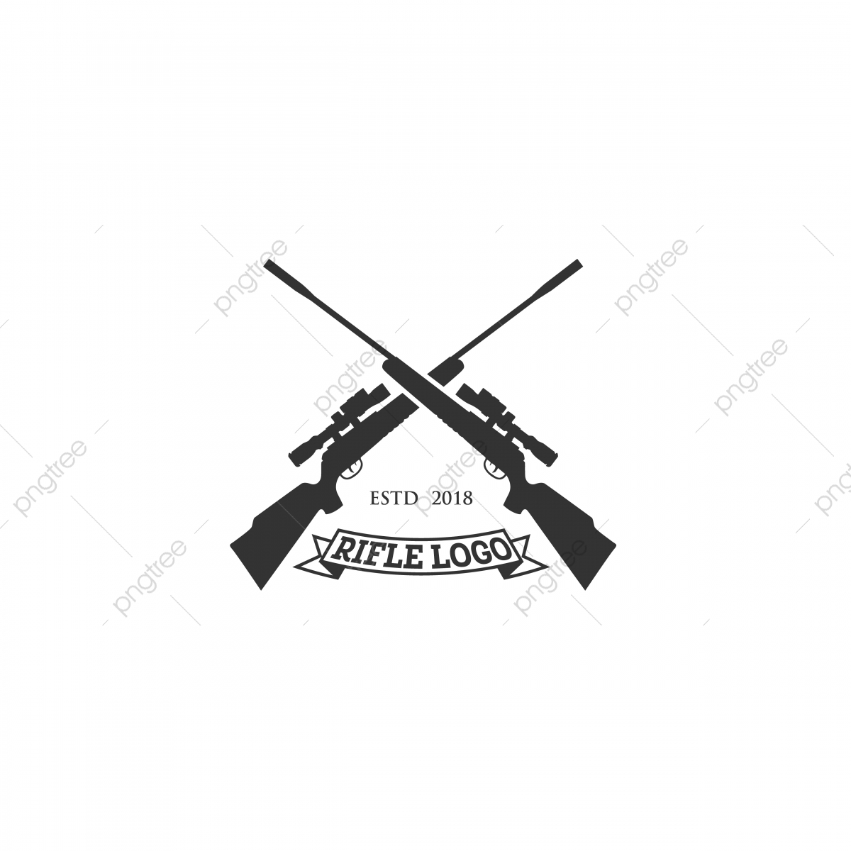 Rifle Club Logo Designs Logo Icons Club Icons Logo Png And Vector With Transparent Background For Free Download