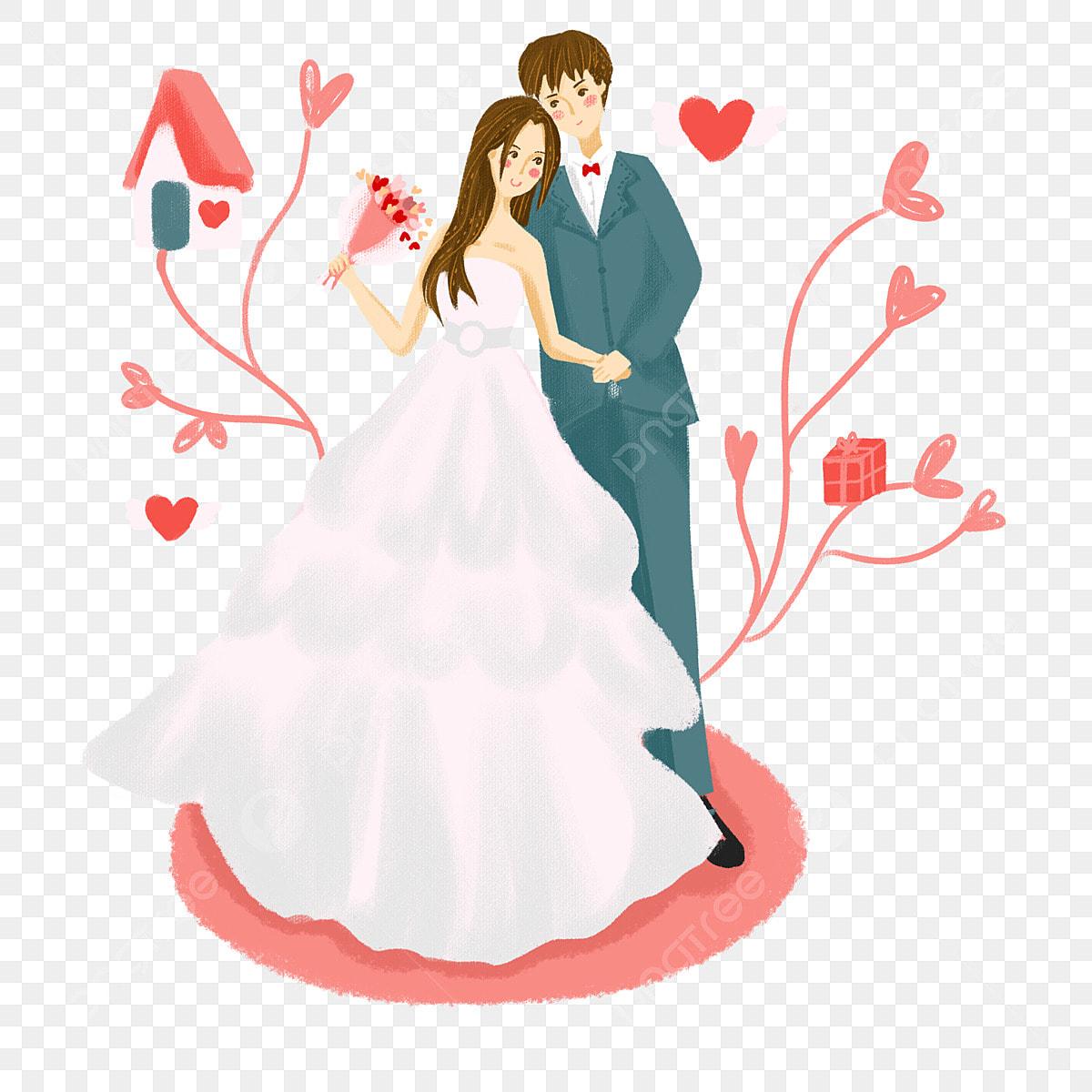 Romantique Couple Main De Mariage Rose Dessin Couple Romantique Couple Romantique Romantique Romantique Mariage Festival Romantique Fichier Png Et Psd Pour Le Téléchargement Libre