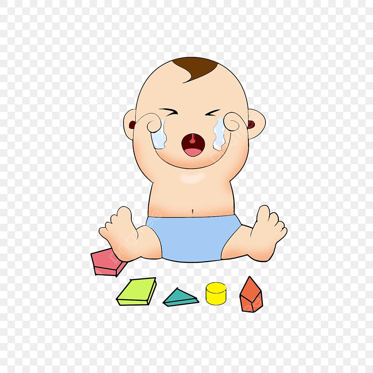 Gambar Sedih Wow Menangis Kartun Bayi Versi Q Kesuburan Watak Kartun Penyusuan Susu Ibu Png Dan Psd Untuk Muat Turun Percuma
