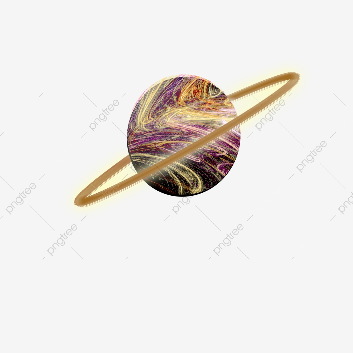 Saturn Planet Outer Space Star Ring, Black Hole, Milky Way, Star PNG