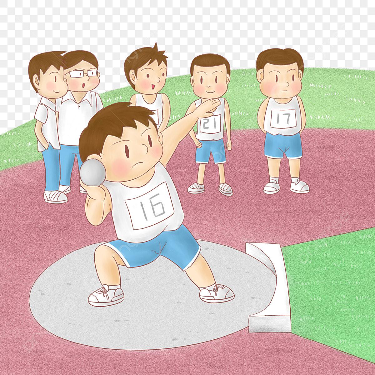 Lanzamiento De Bala La Competencia Atletico Parque Infantil Dibujos La Competencia Lanzamiento De Bala Png Y Psd Para Descargar Gratis Pngtree