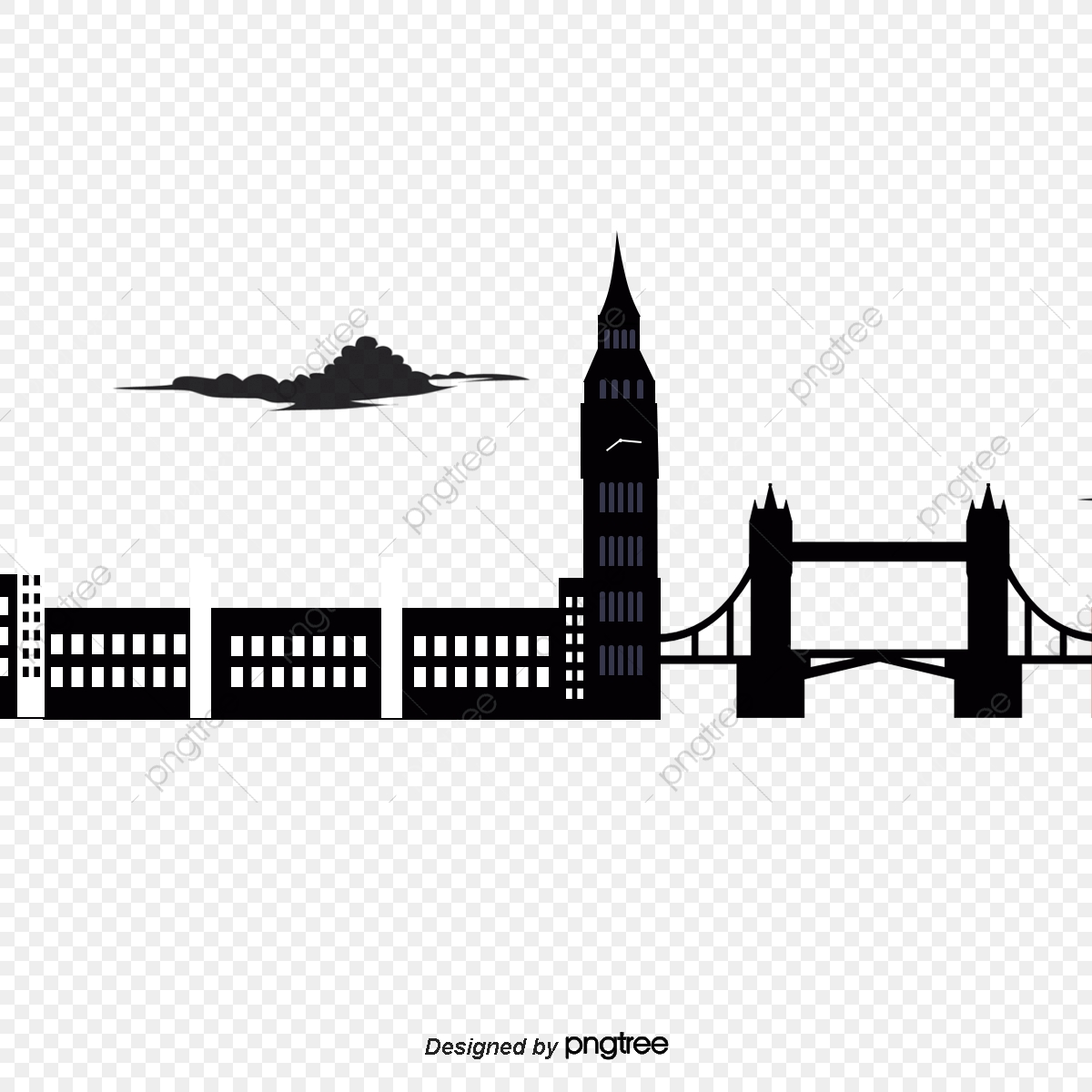 British London Bridge Building Element Londres Pont De