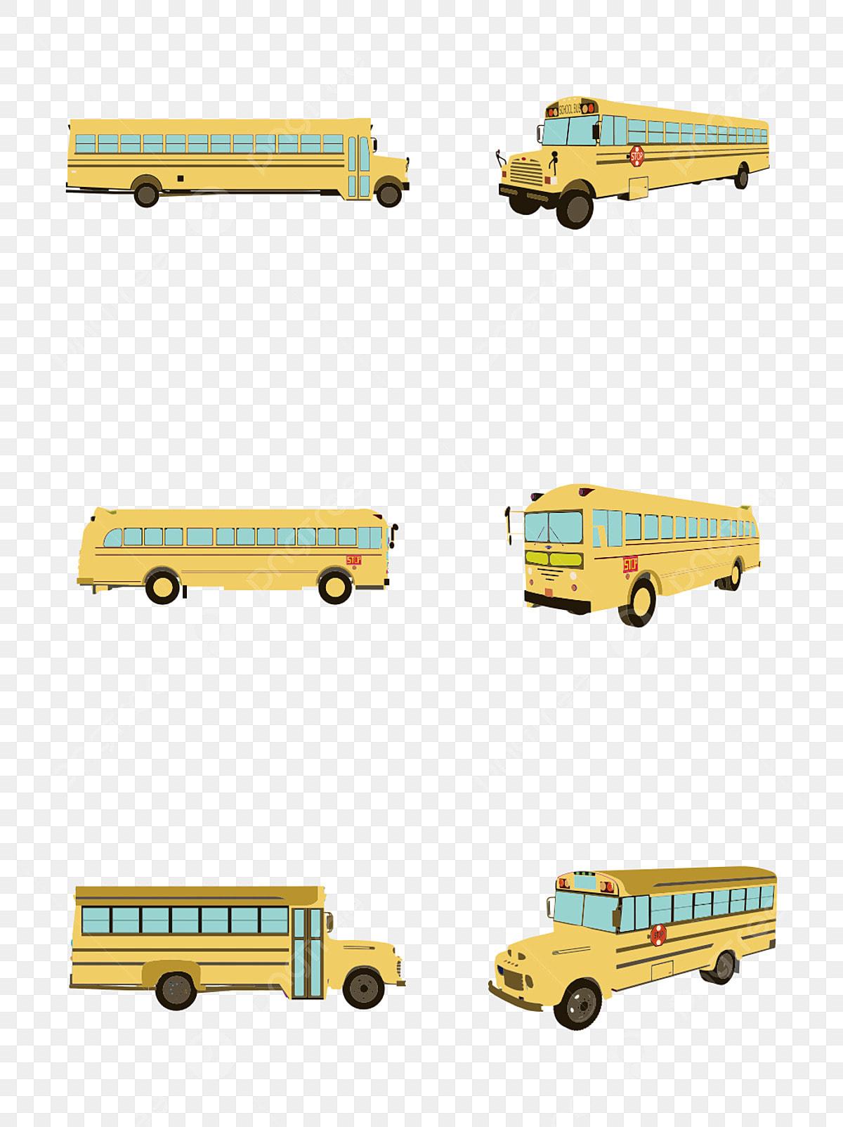élèves Du Primaire Simples Commencent élément De Bus