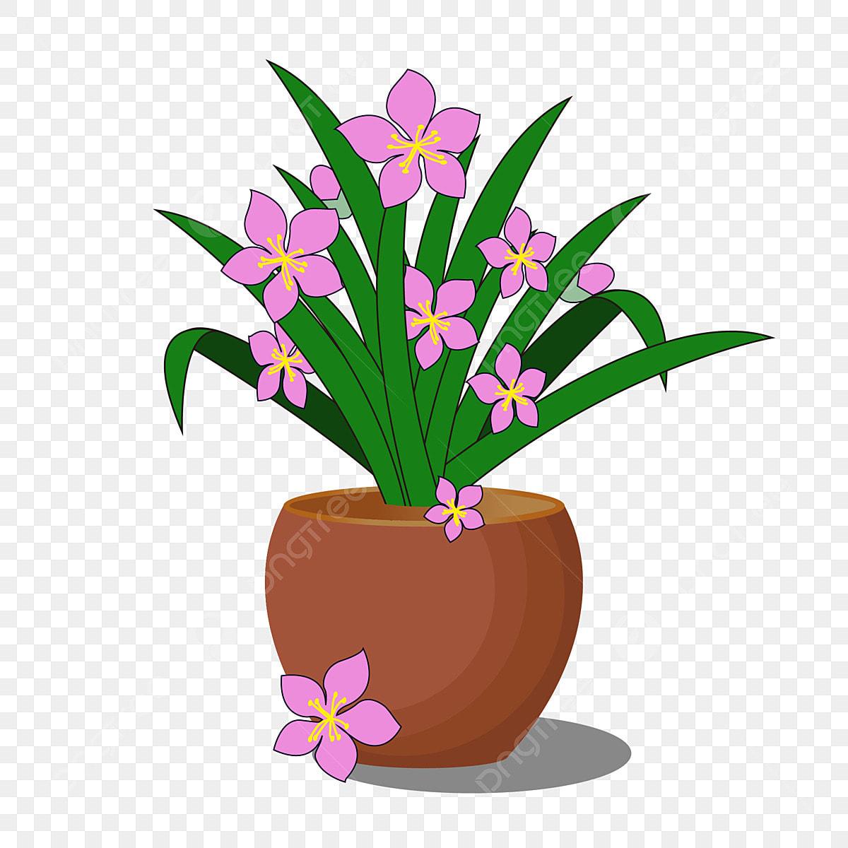 Gambar Bunga Mudah Daun Hijau Bahan Grafik Kecil Pasu Mudah Bunga Daun Hijau Png Dan Clipart Untuk Muat Turun Percuma