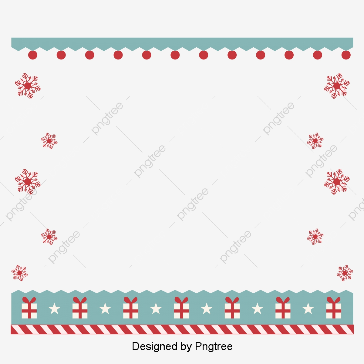 Christmas Border Design Png.Snow Lace Gift Christmas Border Design Christmas Elements