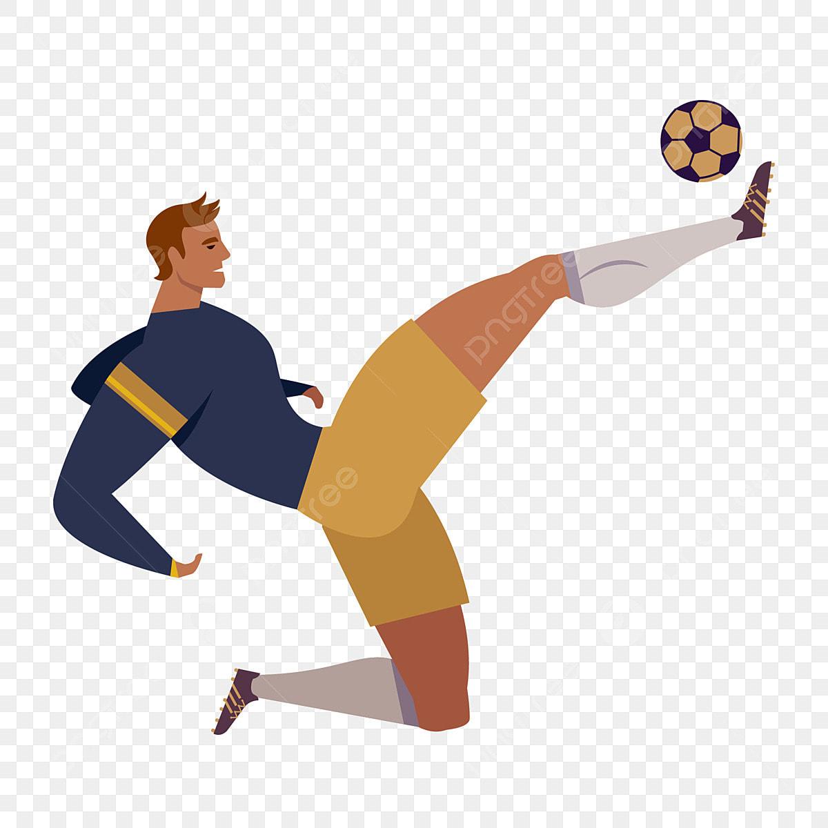 Fussballspieler Athlet Sport Sportspieler Posenmaterial