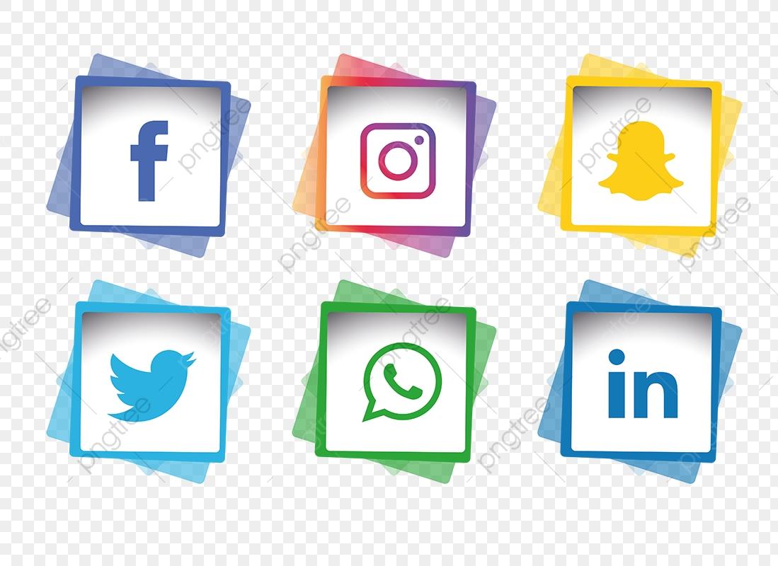 Social Media Icons Set Social Media Icons Icons Social