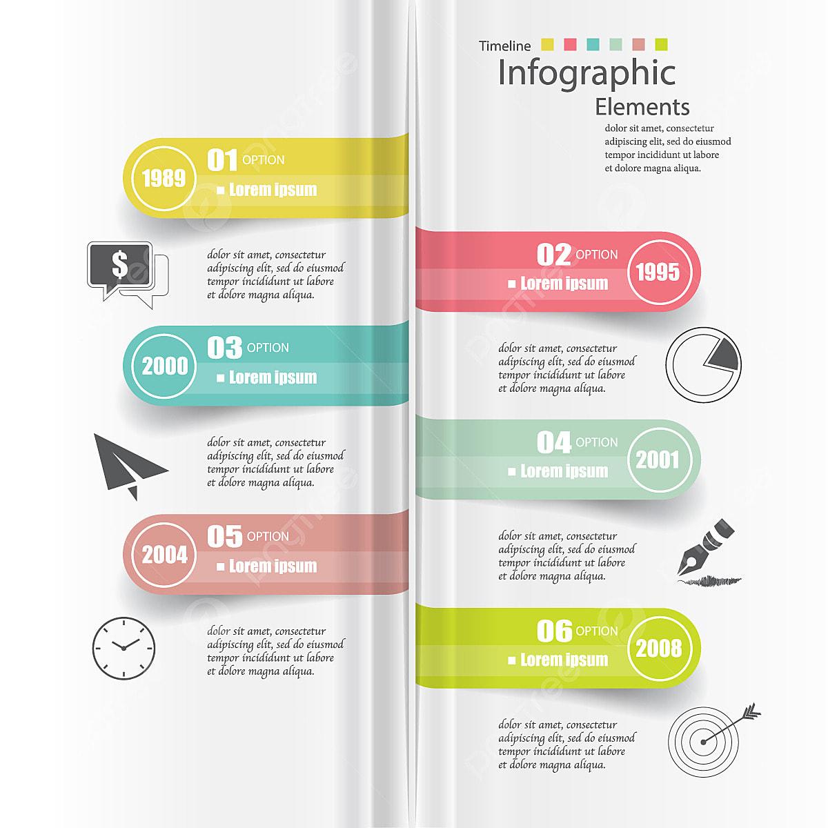 chronologie infographic mod u00e8les r u00e9sum u00e9 vecteur abstrait ad
