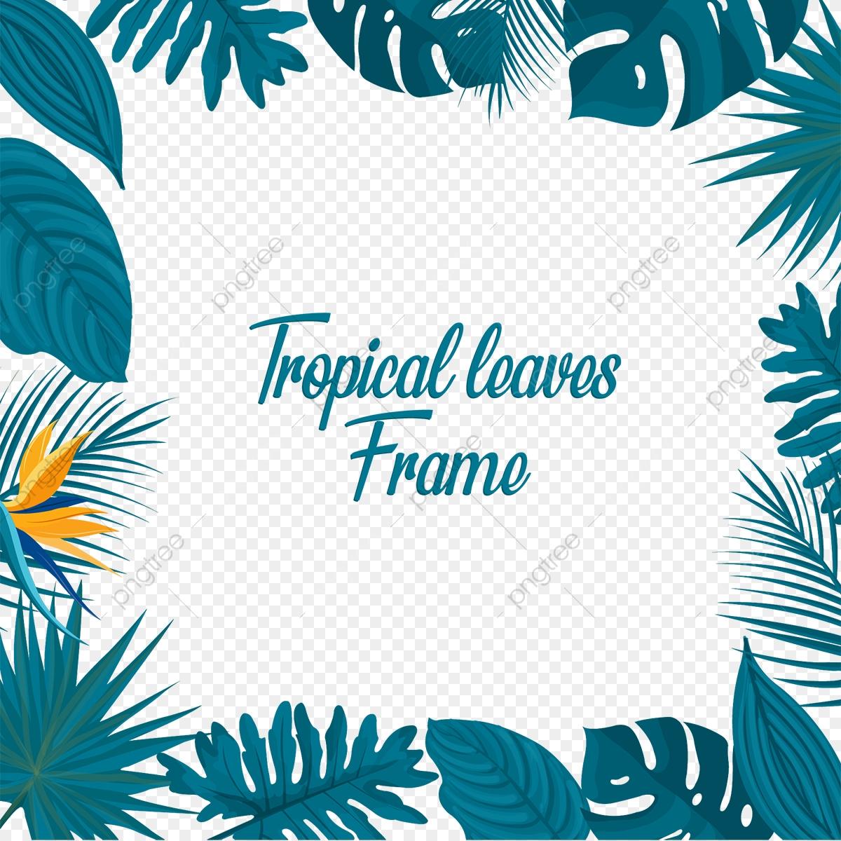 Tropical Leaves Border Flyer Poster Banner Png And Vector With Transparent Background For Free Download Search more hd transparent tropical leaves image on kindpng. https pngtree com freepng tropical leaves border 4235192 html