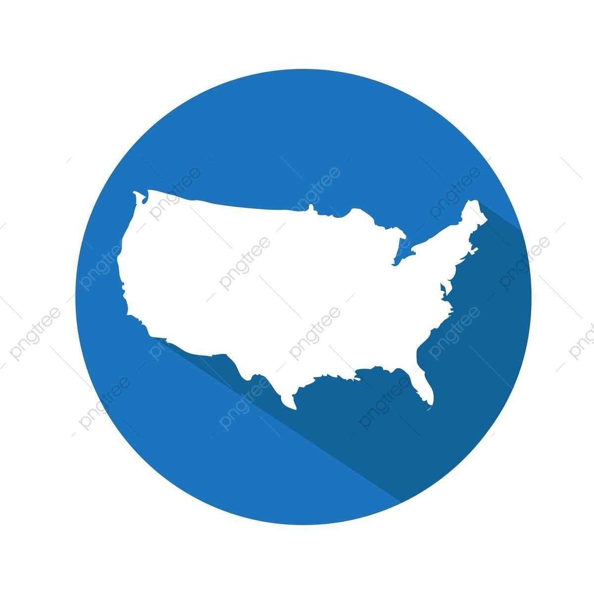 Usa Karte Amerika Amerikanischer Kunst Blog Png Und Vektor
