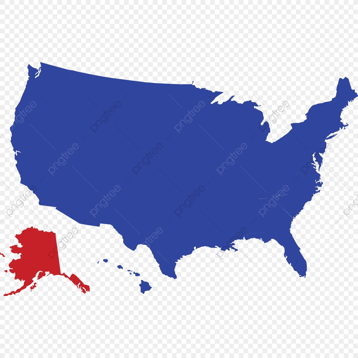 Usa Map Vector, Usa Map, Usa, Map PNG and Vector with ...
