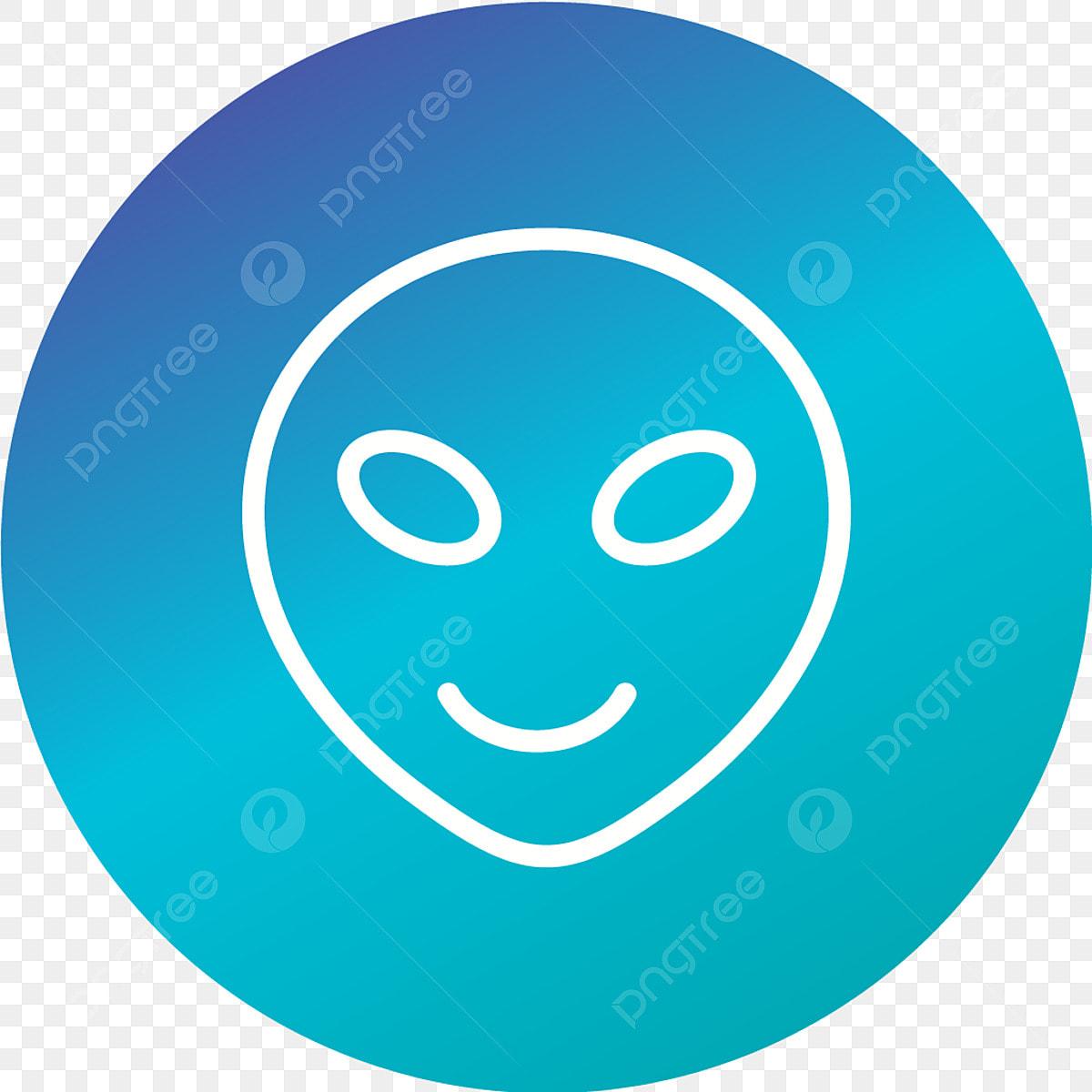 Vector Alien Emoji Icon, Alien, Emoji, Emoticon PNG and