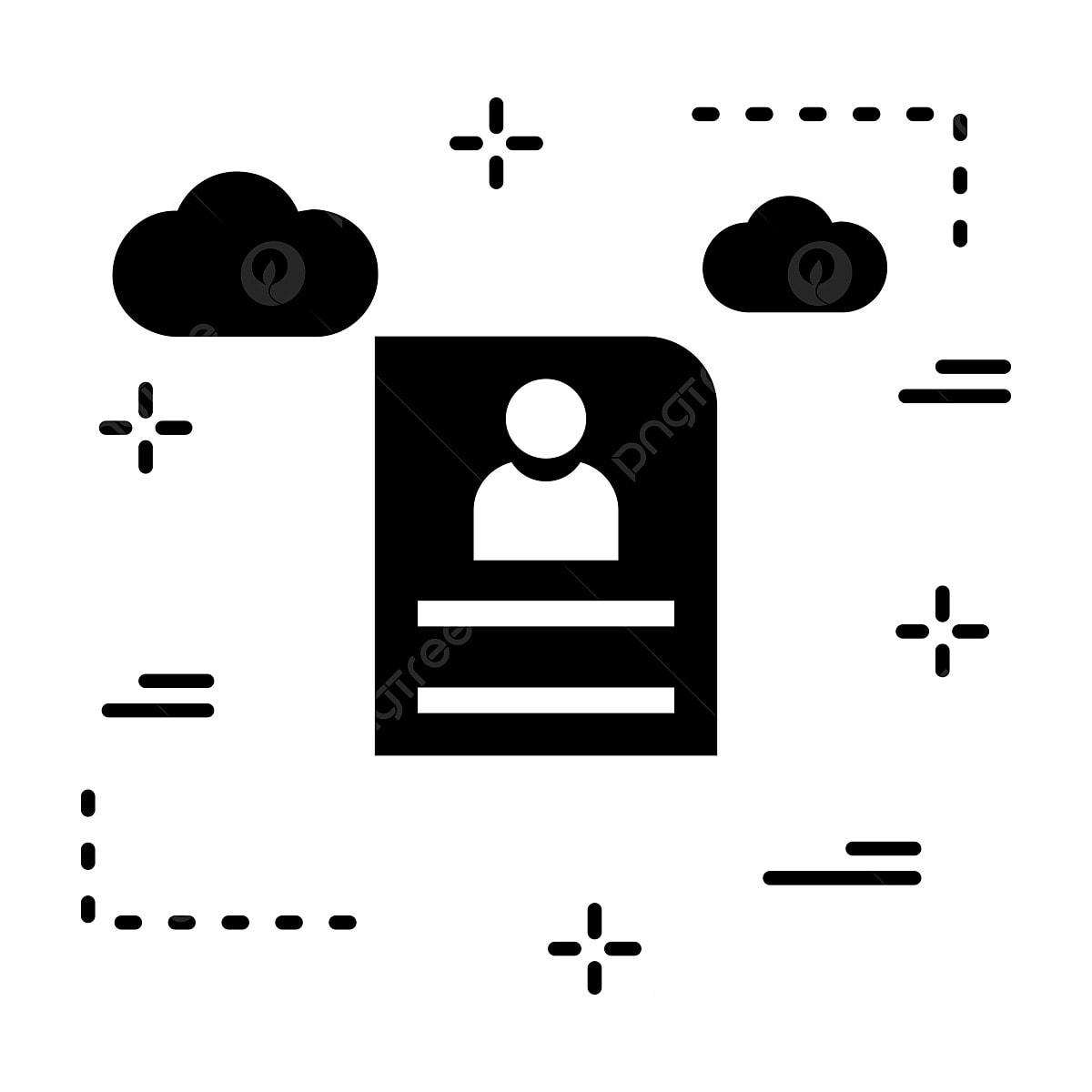 Vector Cv Icon Cv Icon Resume Portfolio Png And Vector