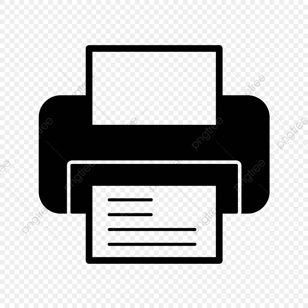 View Printer Vector Icon