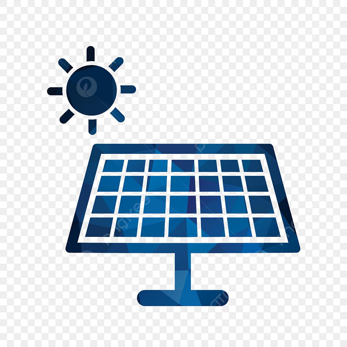 Vector Icono De Energía Solar, Iconos De Energía, Iconos Solares ...