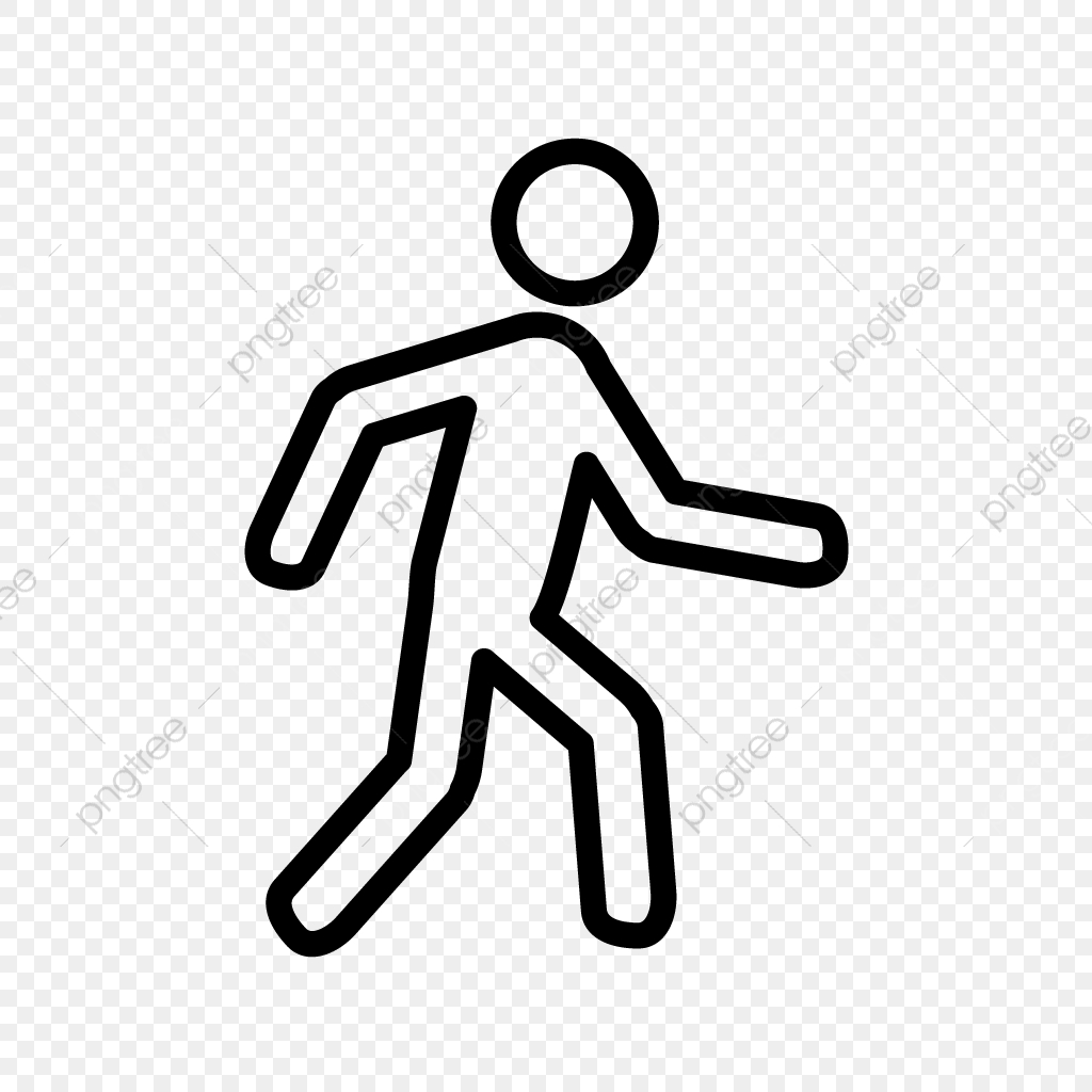vector walking icon walking walk running png and vector with transparent background for free download https pngtree com freepng vector walking icon 4155658 html