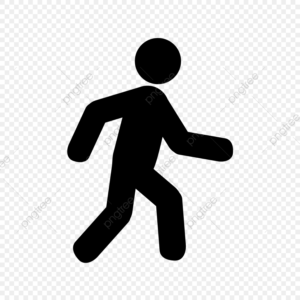vector walking icon walking walk running png and vector with transparent background for free download https pngtree com freepng vector walking icon 4155715 html