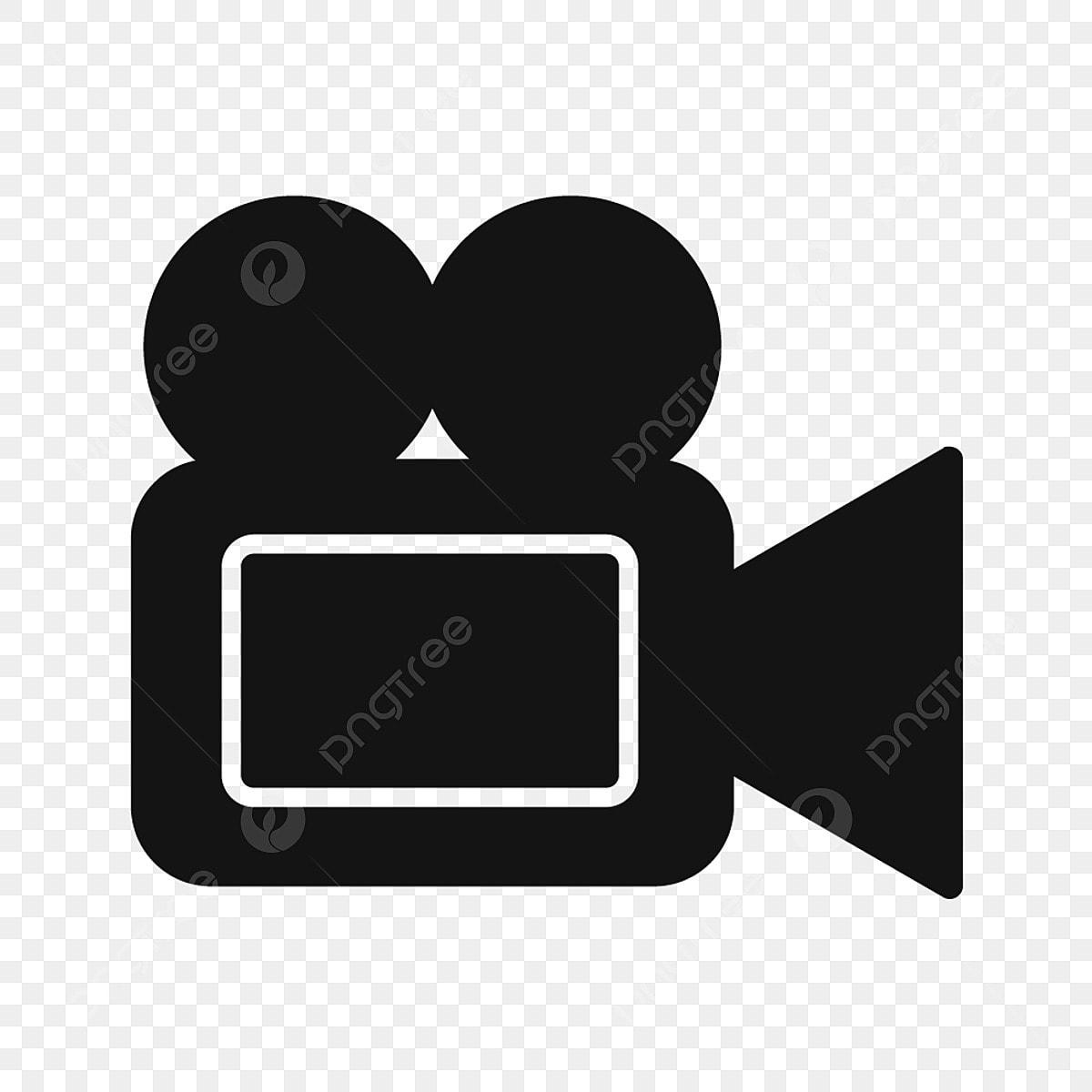 Video Symbol Design Flach Glyphe Png Und Vektor Zum