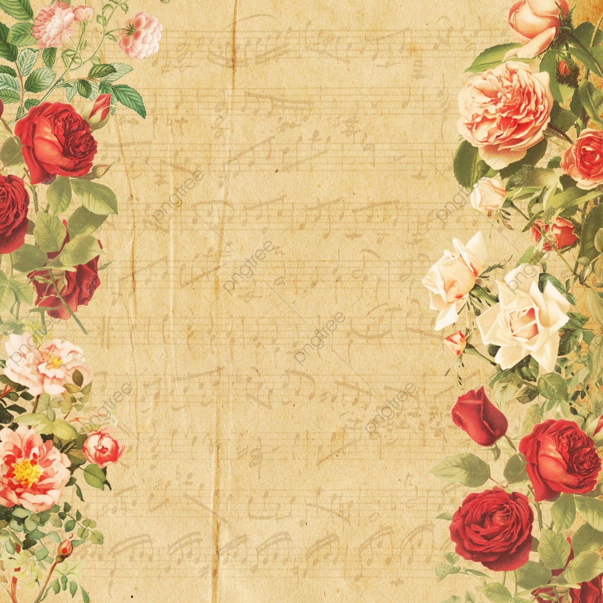 Vintage Floral Png Vector Psd And Clipart With Transparent
