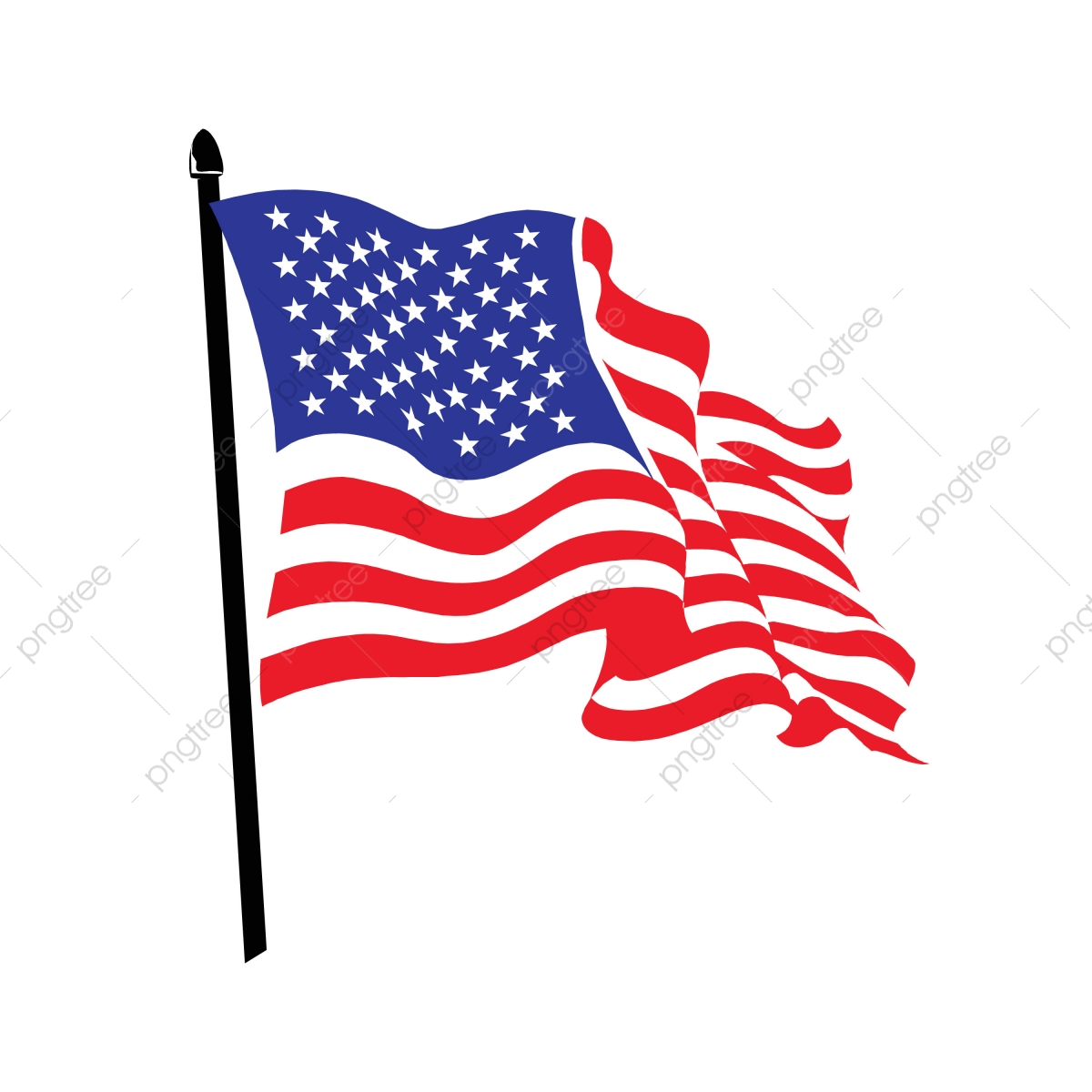 Free American Flag Printable, Download Free Clip Art, Free Clip Art on  Clipart Library