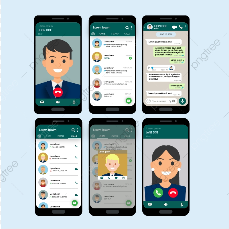 Chat App Png And Vector With Transparent Background For Free Download
