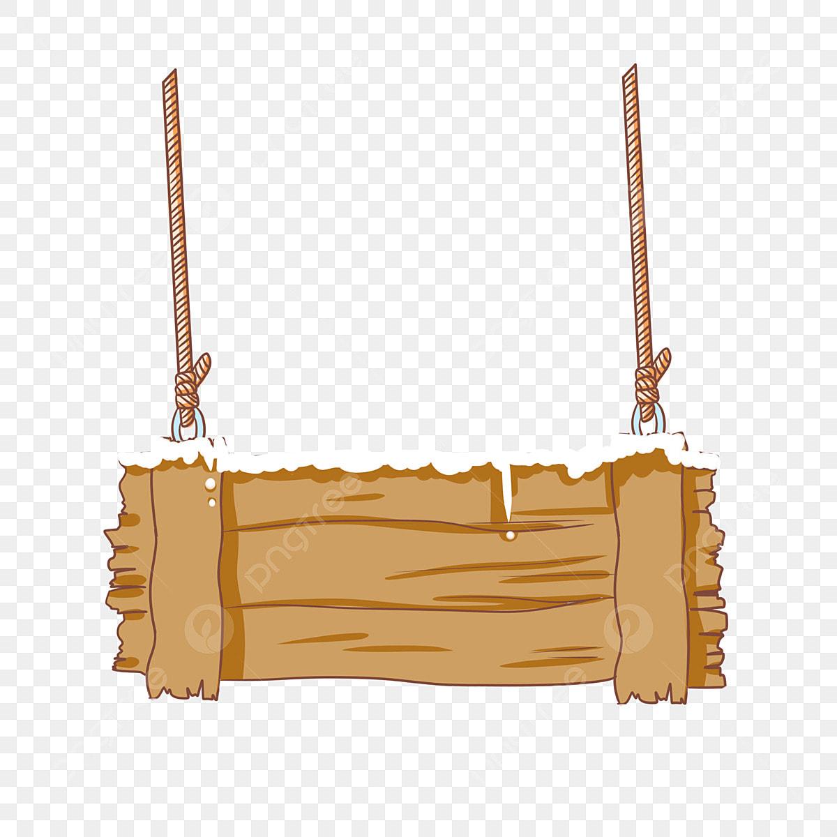 Ecrire Sur Panneau Bois panneau en bois jaune panneau de bois neige blanche corde