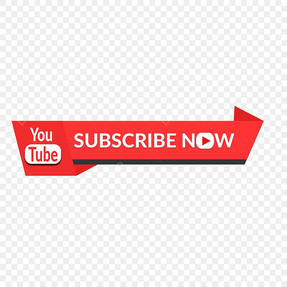 Youtube Subscribe Button Vector Banner Subscribe Youtube