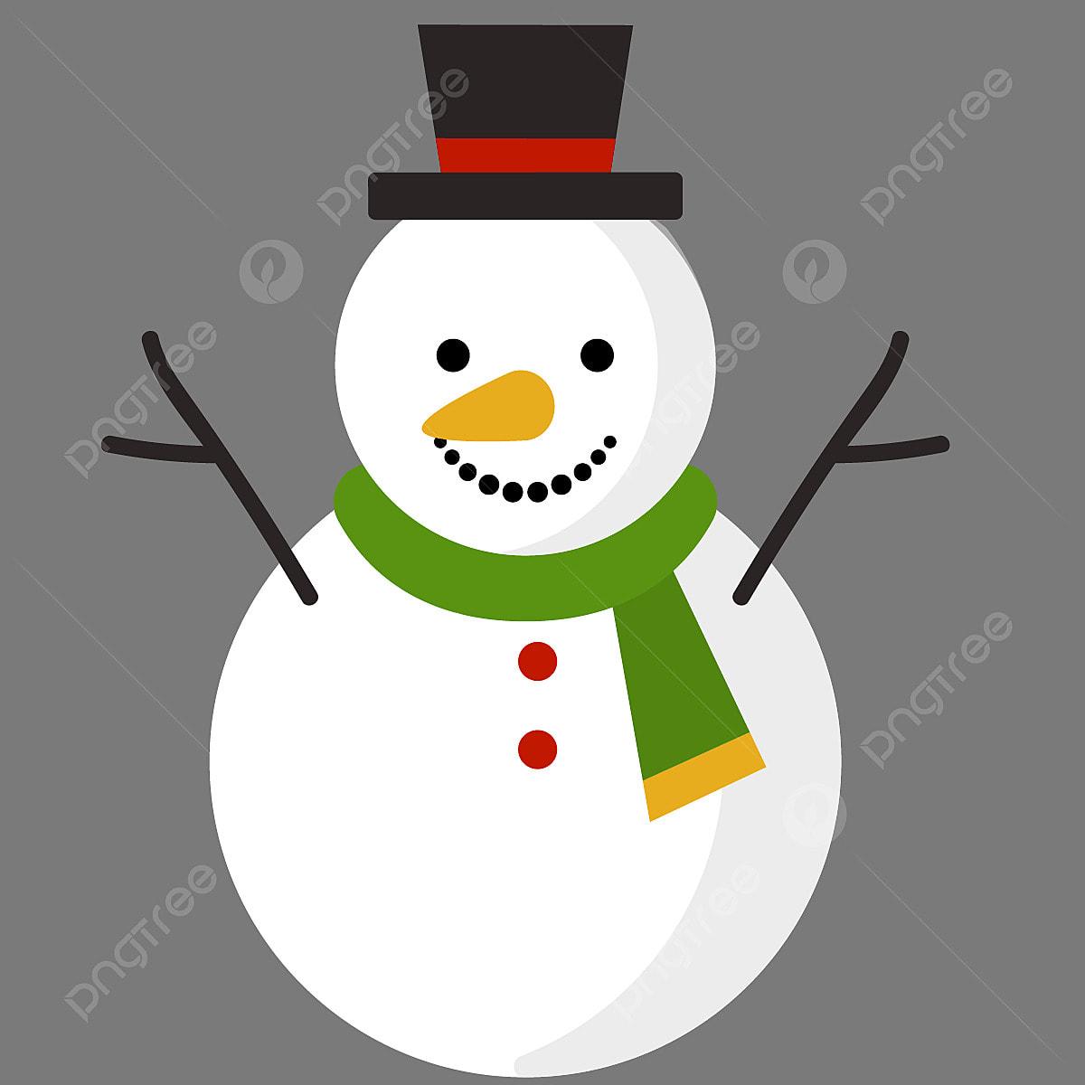 Christmas Snow Doll Snow Christmas PNG And Vector