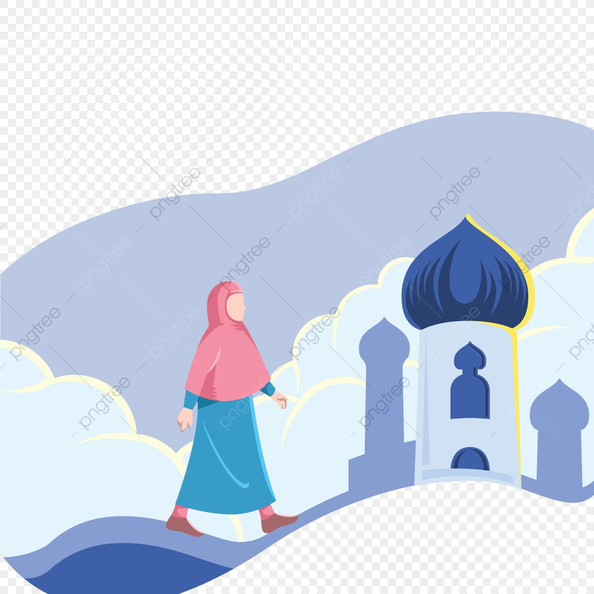 Download 9700 Koleksi Background Ppt Muslimah Paling Keren