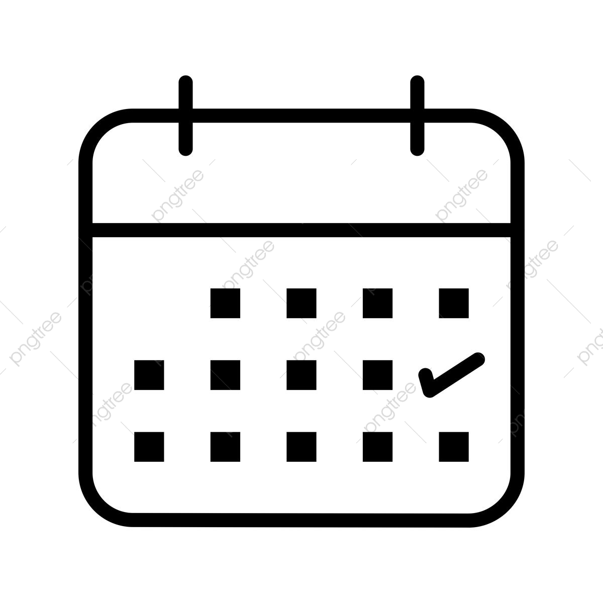 Calendario Business.Business Calendar Banking Line Icon Calendar Icon Business