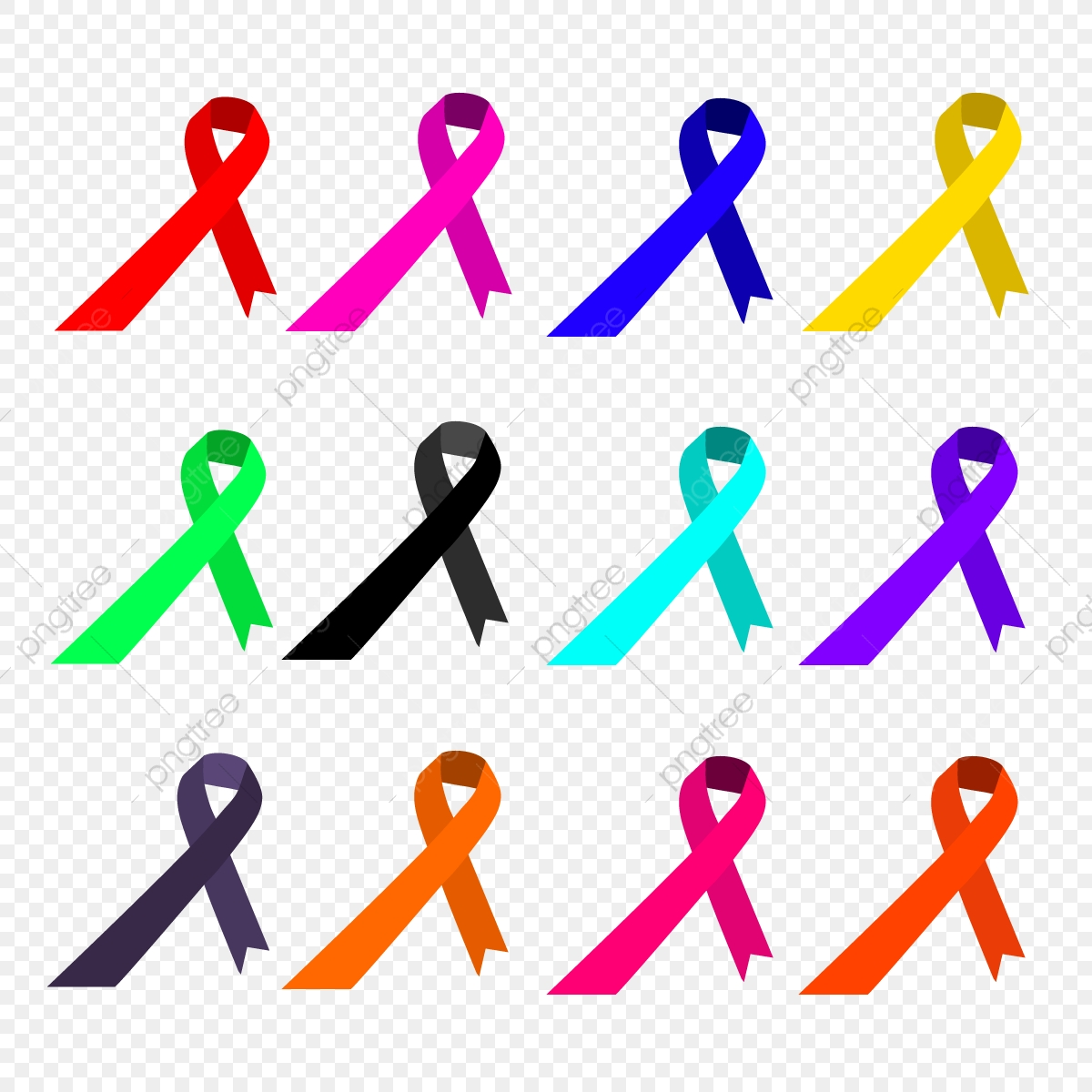 Cancer World Cancer Day Ribbon Png And Vector With Transparent Background For Free Download
