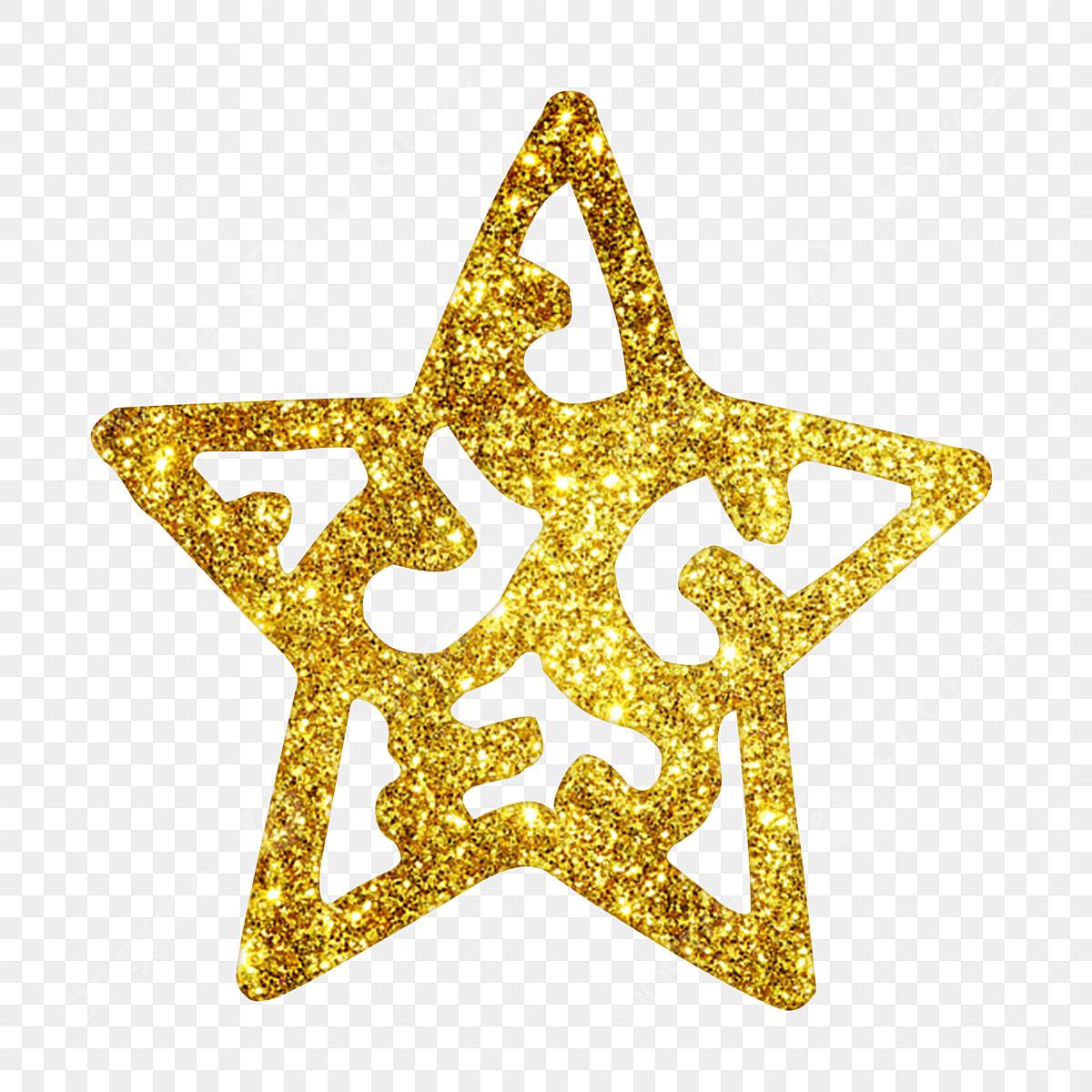 étoile De Noël étoiles De La Nuit De Noël étoiles En Poudre