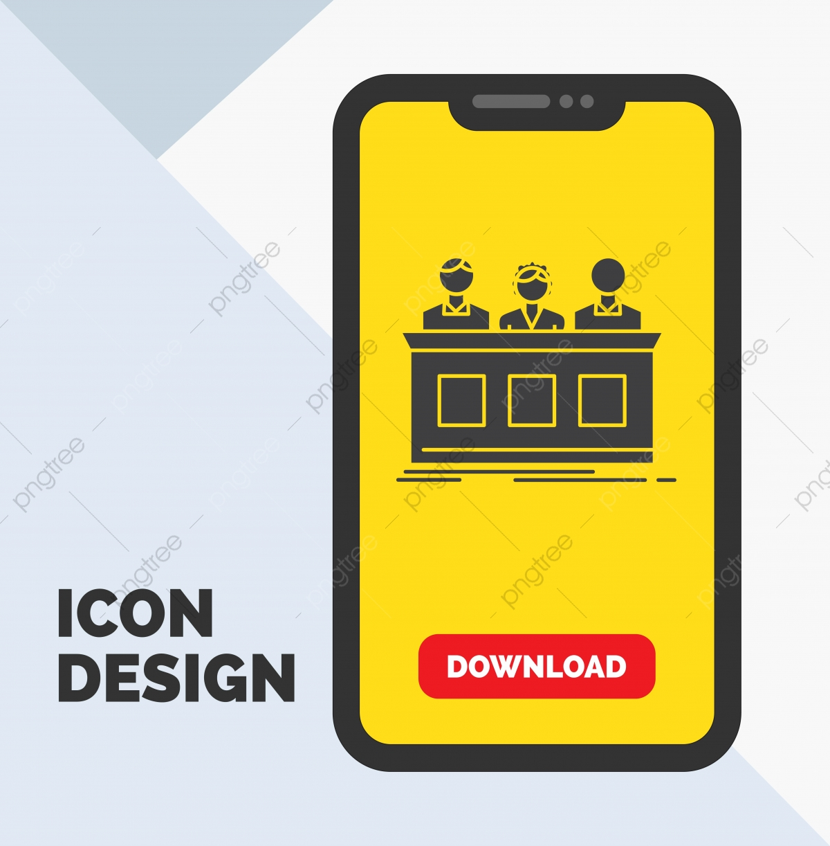 Competition,contest,expert,judge,jury Glyph Icon In Mobile F