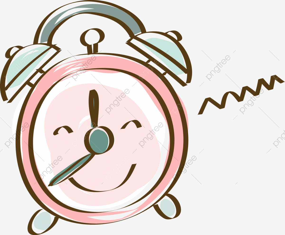 Creative Cute Alarm Clock, Cute Clipart, Clock Clipart ...
