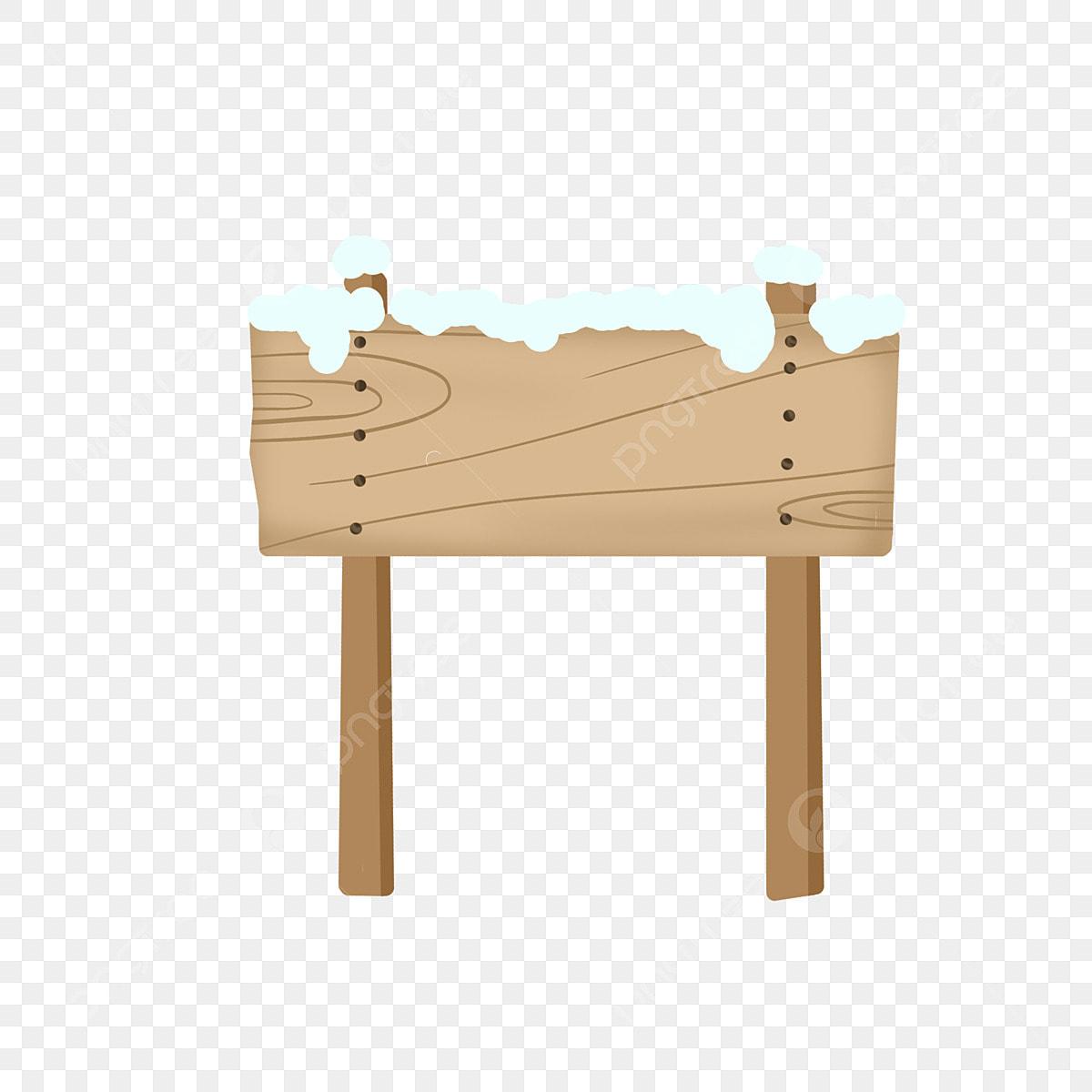 Planche En Bois Deco planche décorative planches en bois recouvertes de neige