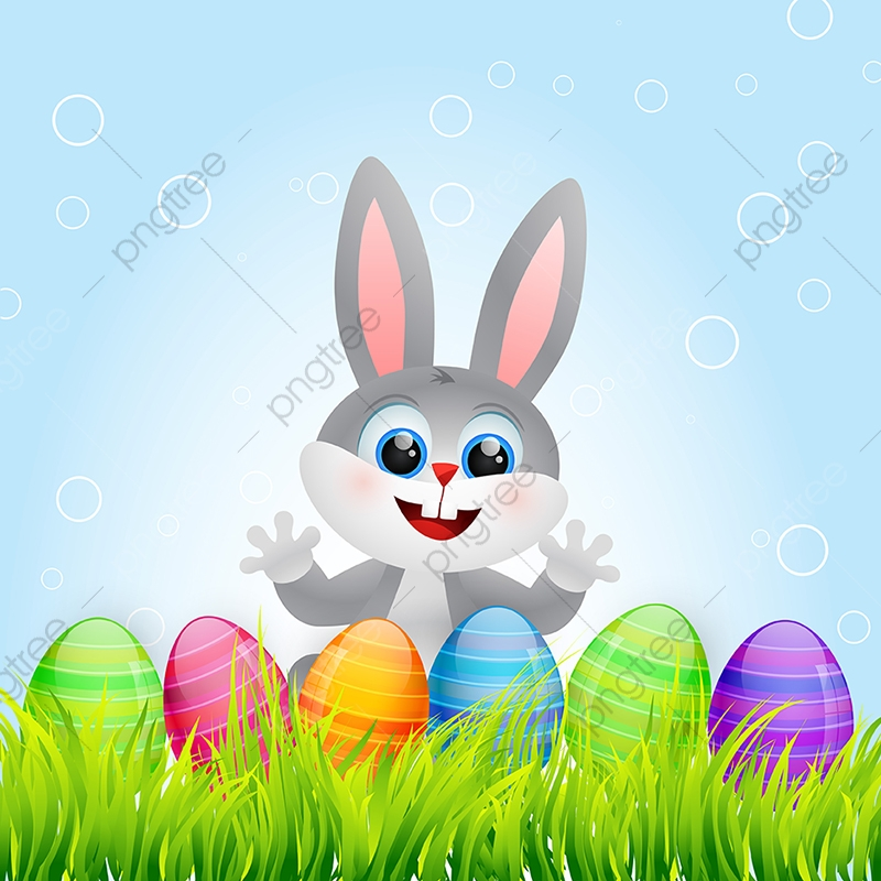 Easter Bunny Easter Graphic Wallpaper Png And Vector With