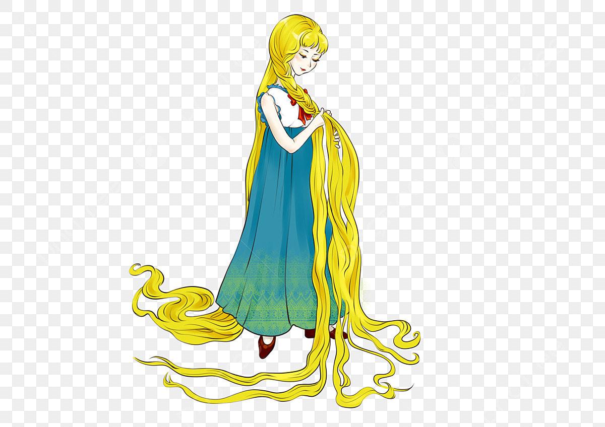Lange haare wie rapunzel