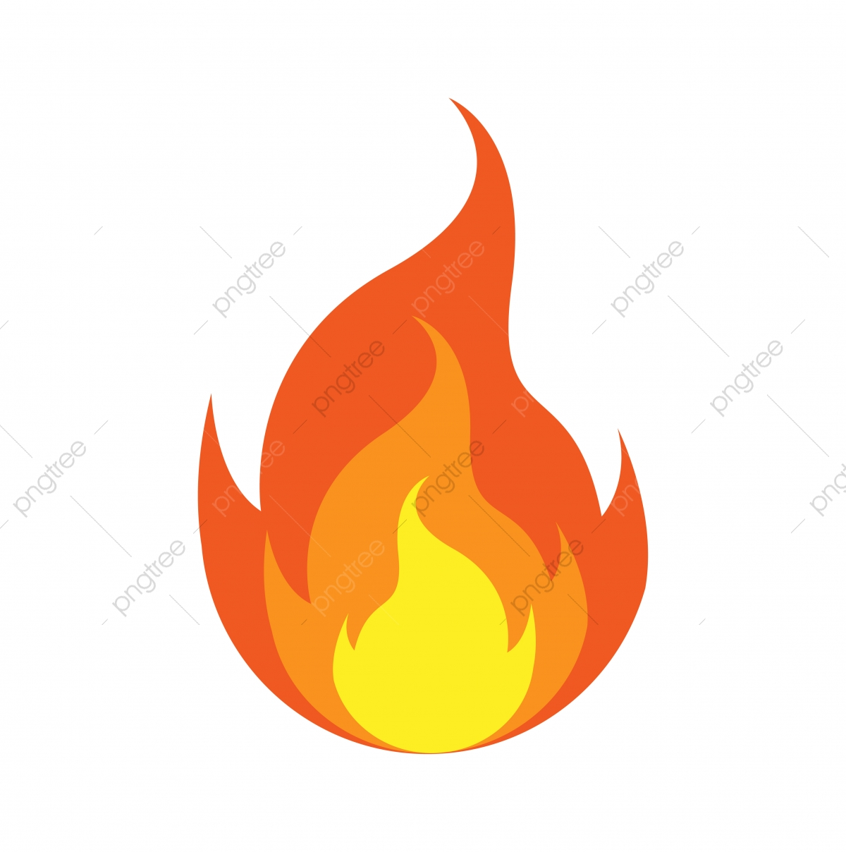Fire Logo Icon Design Template Vector Symbol Fire Icon