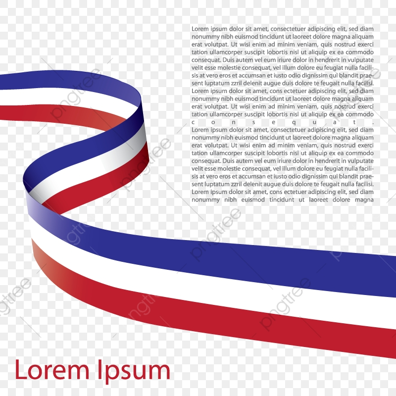 France Flag Creative Ribbon Design Country France State Png And Vector With Transparent Background For Free Download