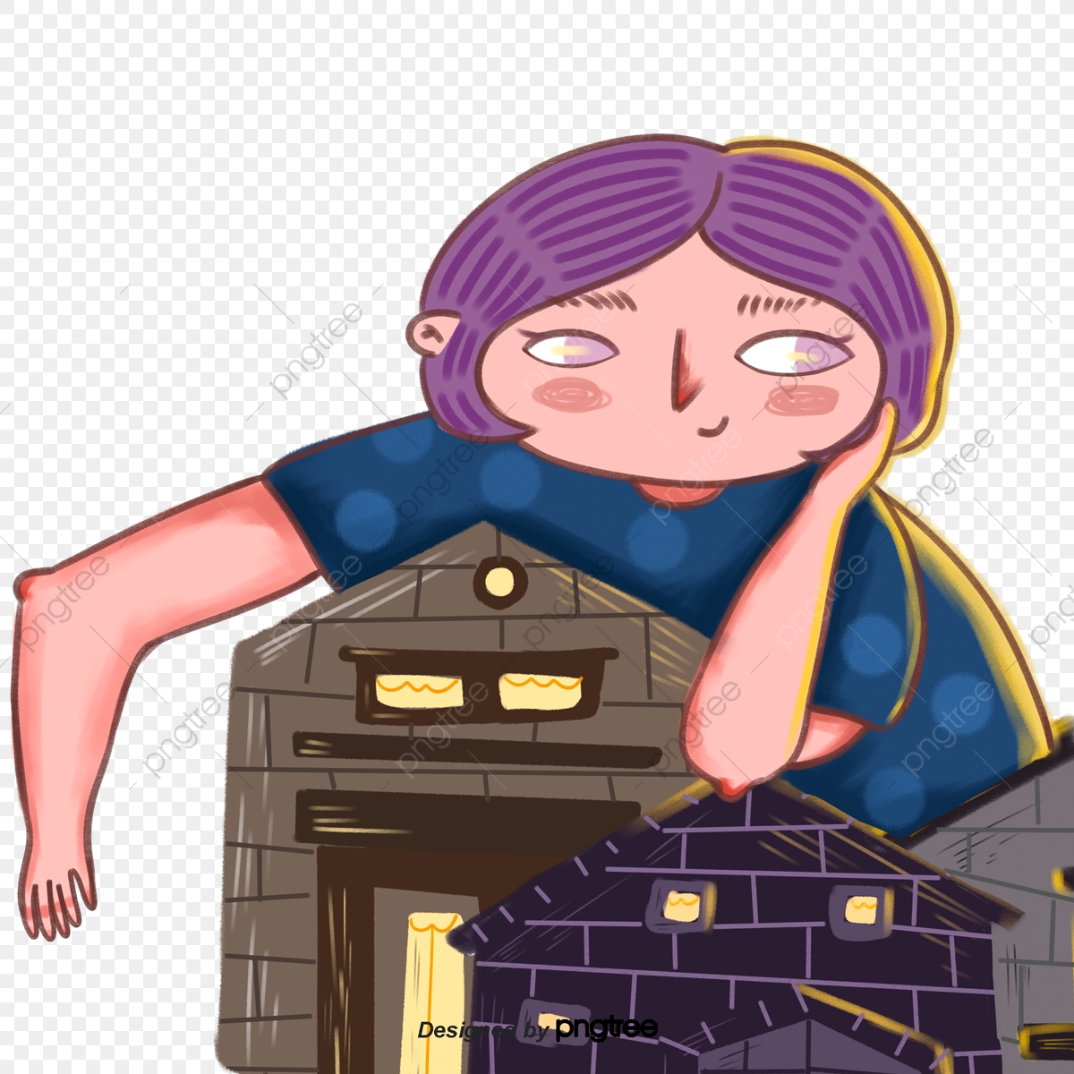 Портативная Девченка На Крыше