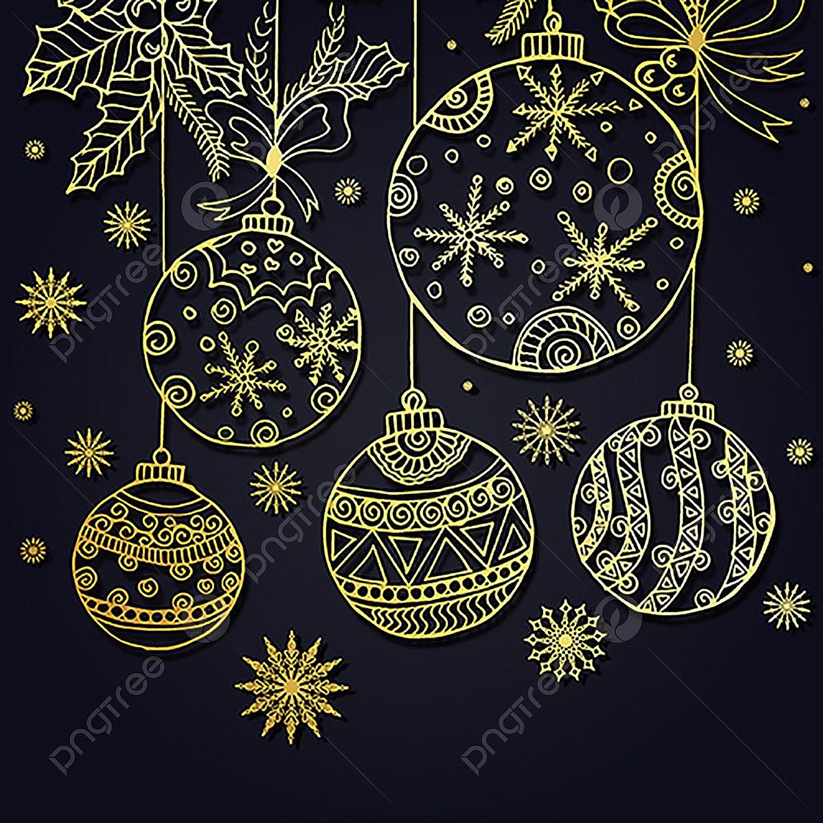 Новогодняя открытка узоры