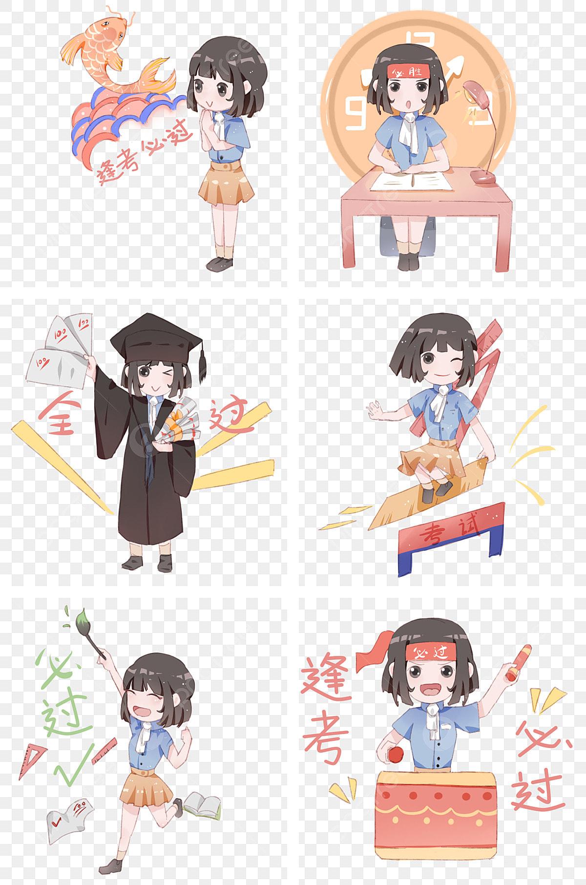 Gambar Lukisan Tangan Gadis Sekolah Mid Istilah Ujian Semester Peperiksaan Setiap Ujian Harus Lulus Gadis Kartun Setiap Ujian Harus Lulus Peperiksaan Gadis Png Dan Psd Untuk Muat Turun Percuma
