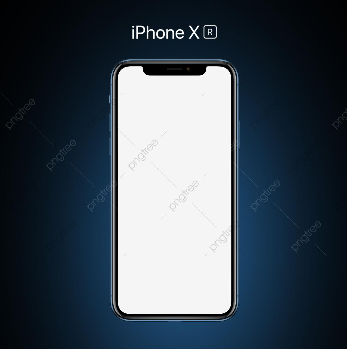 Iphone Xr голубой макет Phototype, Iphone, Xr, хс мобильный PNG и PSD-файл  для бесплатной загрузки