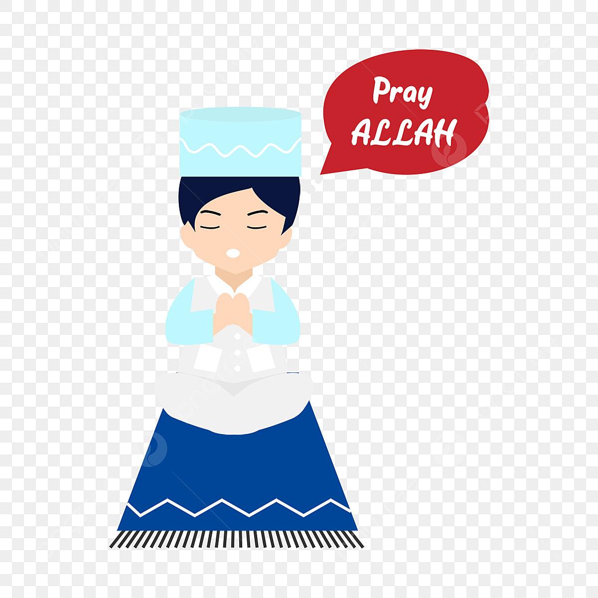 Muslim Berdoa Anak Anak Allah Arab Arab Fail PNG Dan PSD