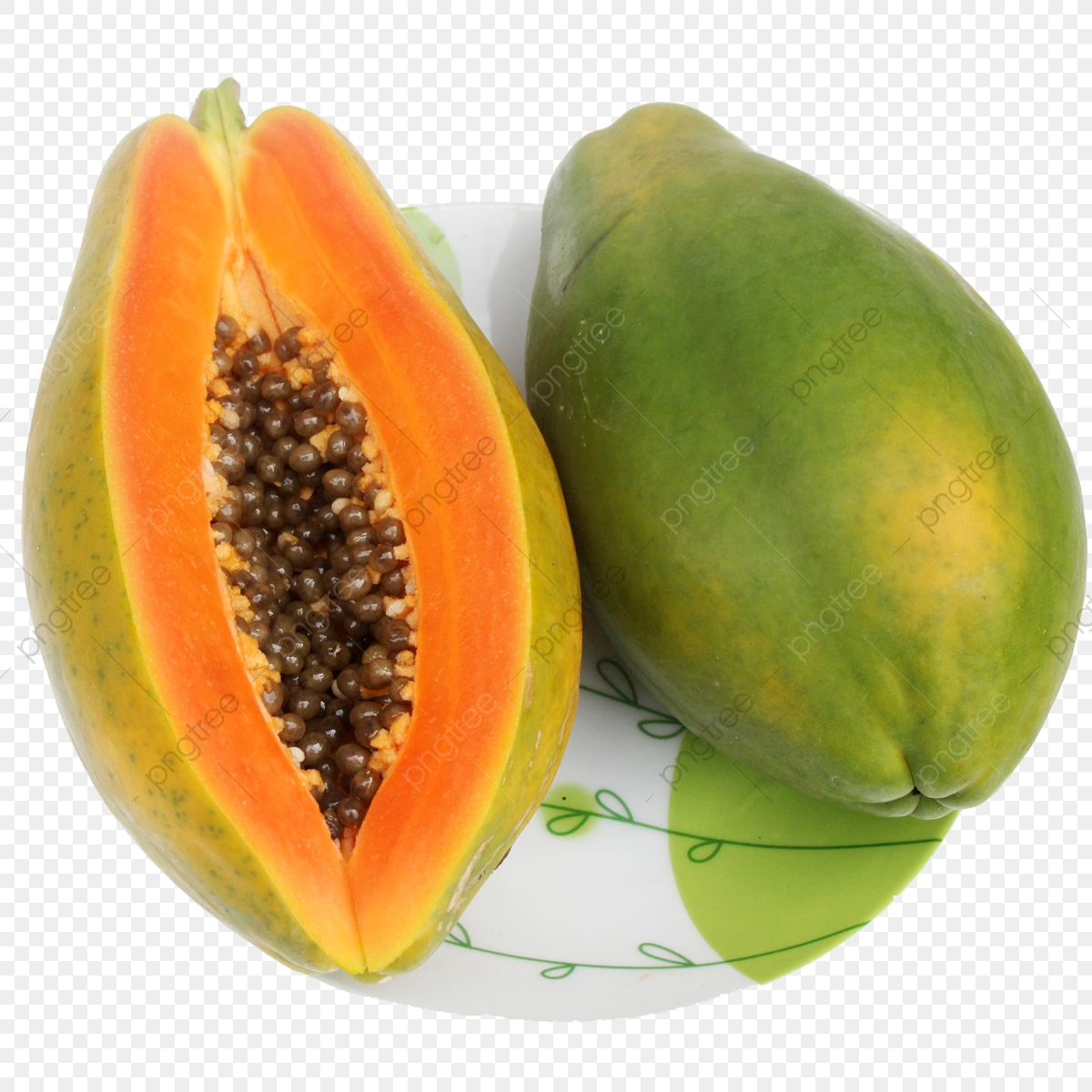Papaya Fruit Fruits And Vegetables Cut Fruit Png Image And
