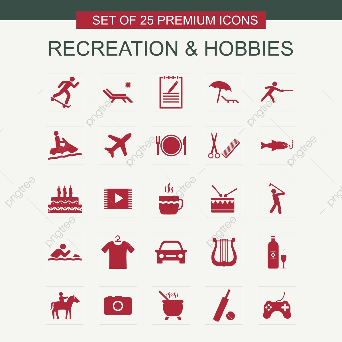 The Best Hobbies Icon Vector Gif