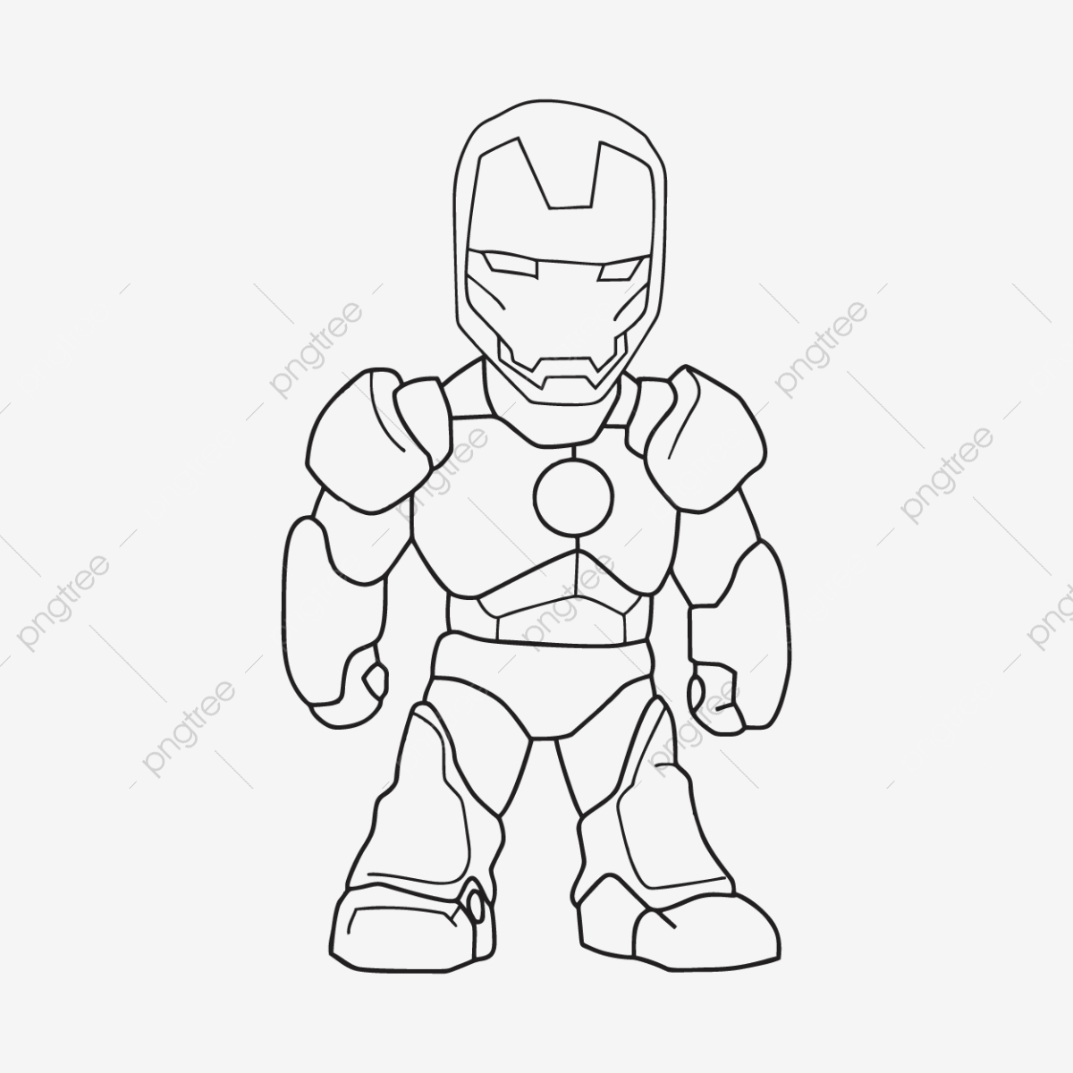 Sketch Of Iron Man Sketch Ironman Power Png And Vector With