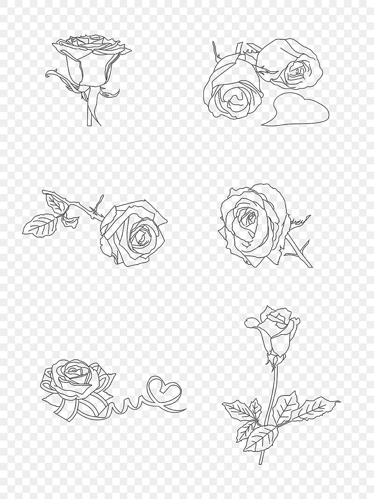 Tanabata Saint Valentin Rose Simple Fleurs Tanabata Saint Valentin Rose Image Png Pour Le Telechargement Libre