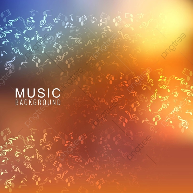 Abstract Images Of Music