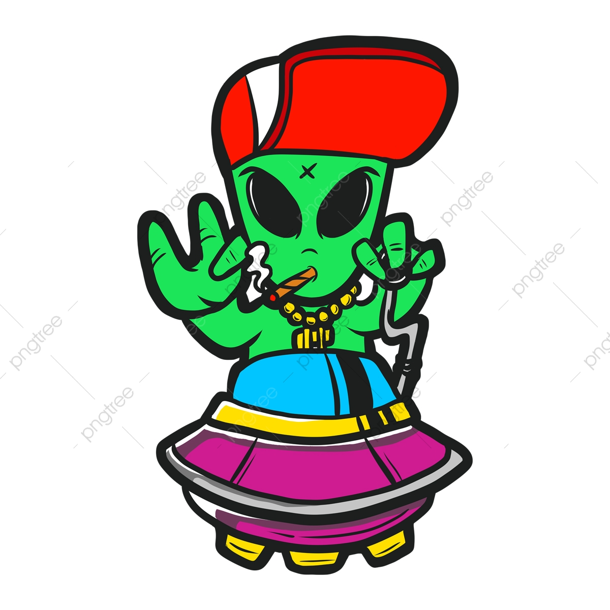 Cartoon Aliens, Cartoon Vector, Cartoon, Alien PNG Transparent Clipart  Image and PSD File for Free Download